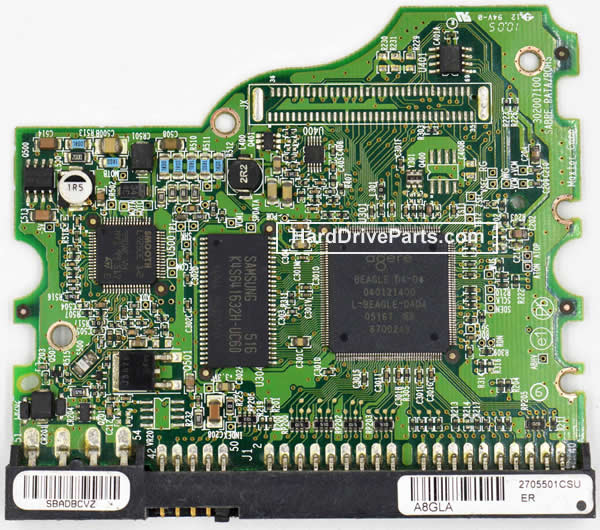 Controladora disco duro maxtor pcb 040121400