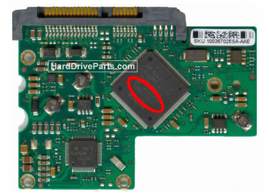 Seagate ST3320620AS Placa Controladora Disco Duro 100367026