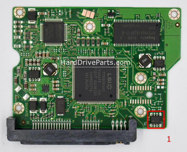 ST3250310CS Seagate Placa Controladora 100468303