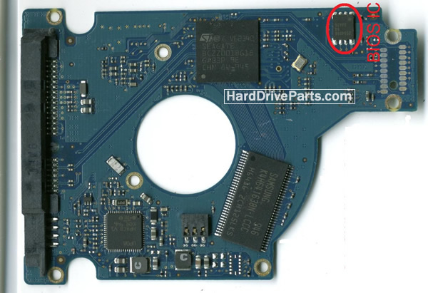 ST9320327AS Seagate Placa Controladora 100536286
