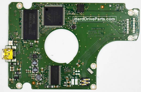 Samsung HN-M101XBB PCB Disco Duro BF41-00365A