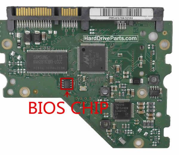 Controladora disco duro samsung pcb BF41-00377A 00