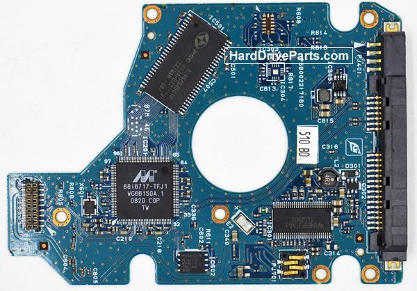 Toshiba MK325GSX PCB Disco Duro G002217A