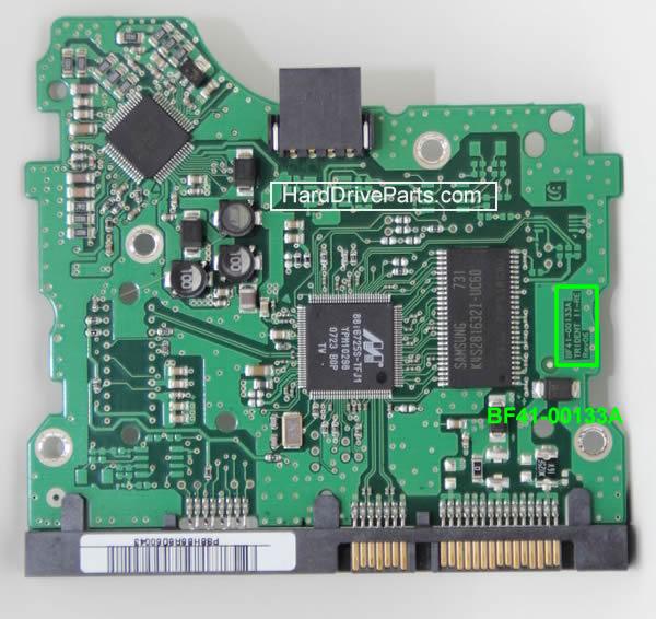 Cambiarplaca controladora disco duro samsung